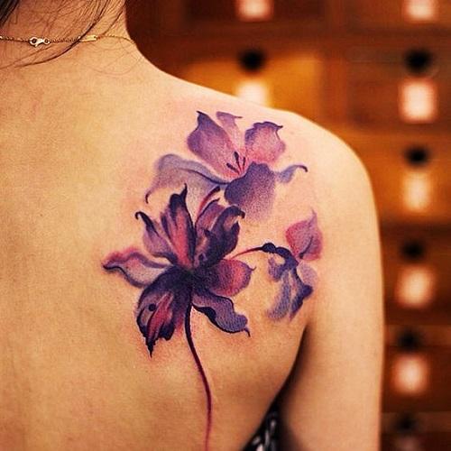101 Tatuajes Para Mujeres Elegantes Y Bonitos Top 2018 - Tatuaje-para-mujeres-en-la-espalda