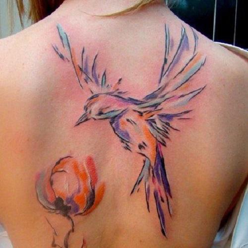 tatuajes para mujeres espalda 2017 4