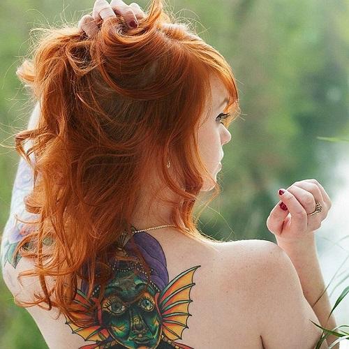 tatuajes para mujeres espalda 2017 5