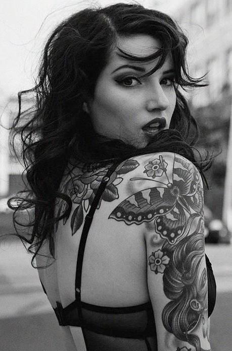 tatuajes sensuales mujeres sexy 3