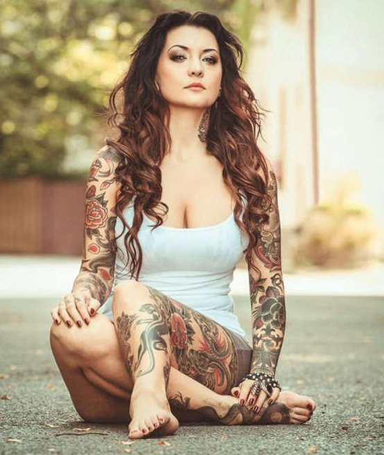 tatuajes sensuales mujeres sexy 4