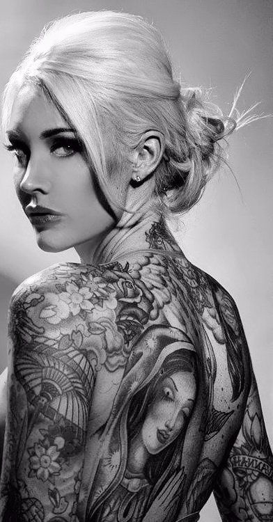 tatuajes sensuales mujeres sexy 6