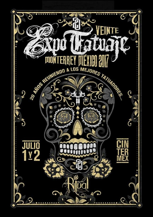 2017 Expo Tatuaje Monterrey min - méxico