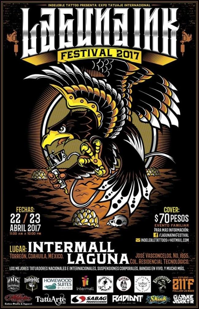 2017 Laguna Ink Festival - méxico