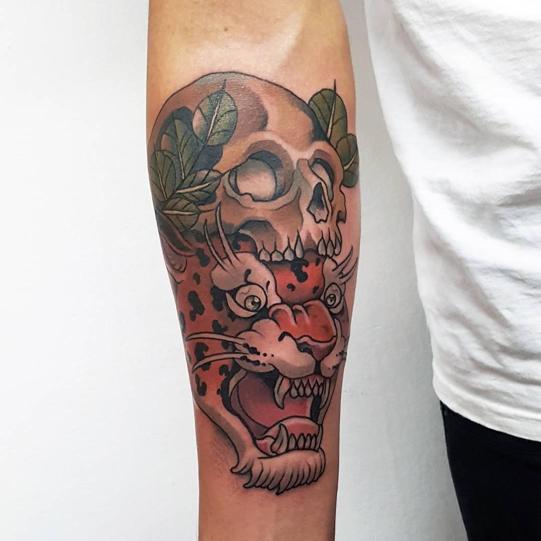 Christopher Peste mexico tattoo - méxico
