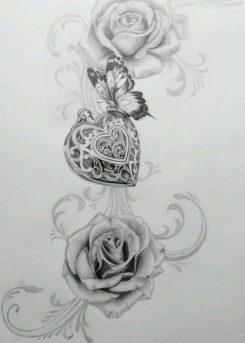 diseños-bocetos-plantillas-tatuaje-de-una-mariposa (1)