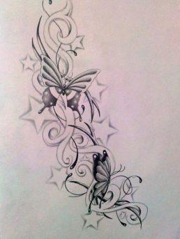 diseños-bocetos-plantillas-tatuaje-de-una-mariposa (3)