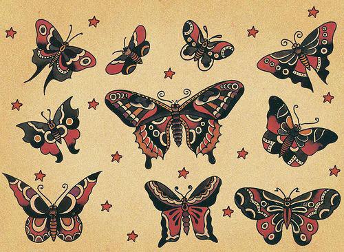 diseños-bocetos-plantillas-tatuaje-de-una-mariposa (4)
