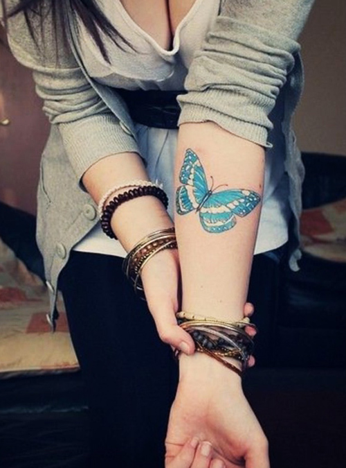 mejores tatuajes de mariposas para mujeres 3