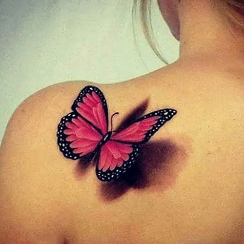 mejores tatuajes de mariposas para mujeres 5