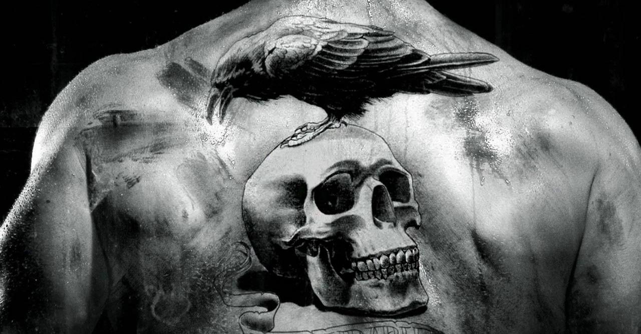 portada tatuajes de calaveras hombres