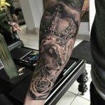 tattoo leones corona 7 150x150