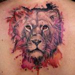 tattoo leones espalda 2 150x150