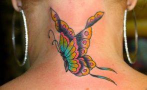 tattoo-mariposa-cuello-flores (2)