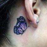 tattoo mariposa cuello flores 3 150x150