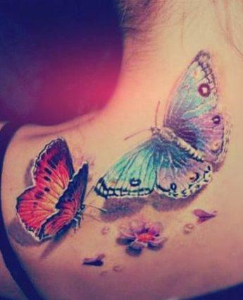 tattoo-mariposa-cuello-flores (4)