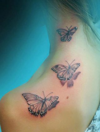 tattoo-mariposa-cuello-flores (5)