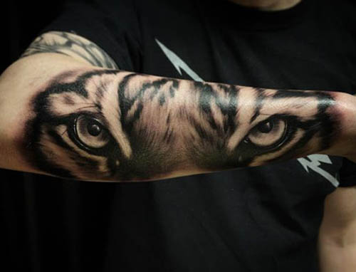tattoo tigres brazo 1