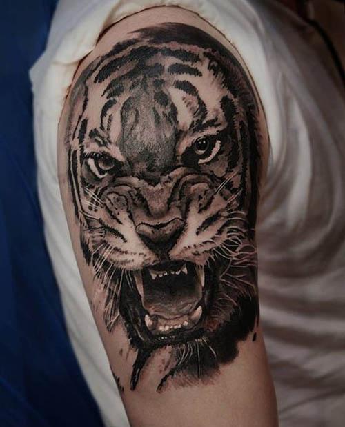tattoo tigres brazo 3