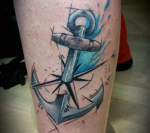 tatuajes anclas hombre brazo significados 3