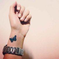 tatuajes-con-mariposas-muñeca-pequeño (1)