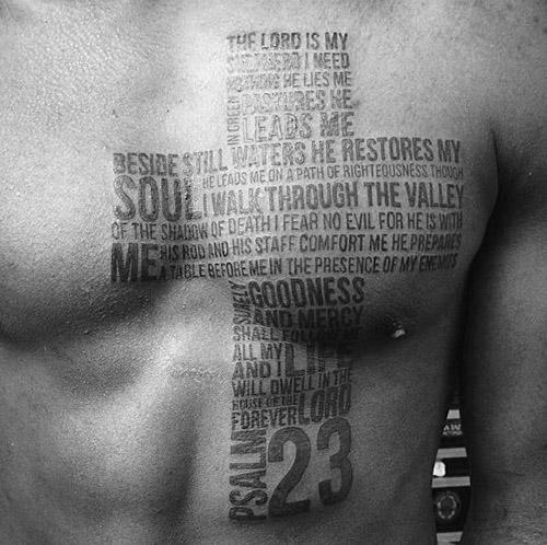 tatuajes cruces para hombres 4