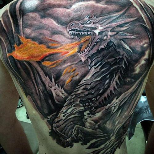 tatuajes de dragones para hombres 4