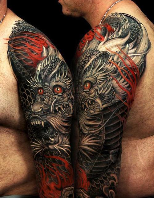 tatuajes de dragones para hombres 7