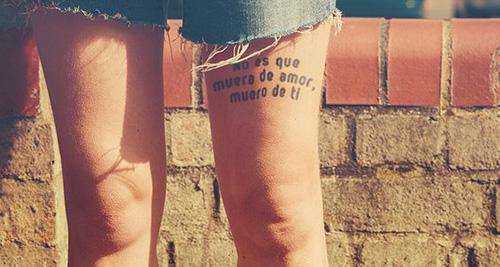 tatuajes de frases cortas español 3