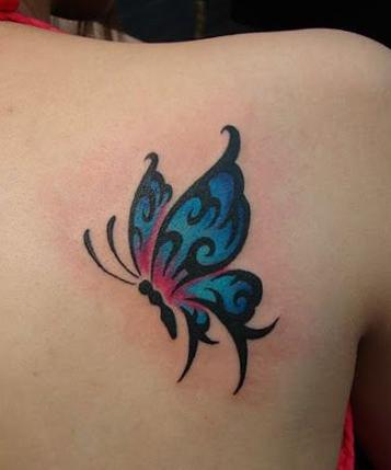 tatuajes-de-mariposas-azules-tattoo-3D (3)
