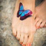 tatuajes de mariposas pie pequeños 1 150x150