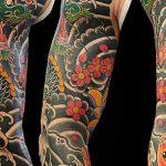 tatuajes dragones brazo mangas 1 150x150