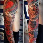 tatuajes dragones brazo mangas 3 150x150