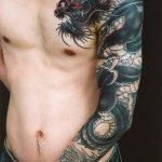 tatuajes dragones brazo mangas 5 150x150