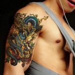 tatuajes dragones brazo mangas 7 150x150