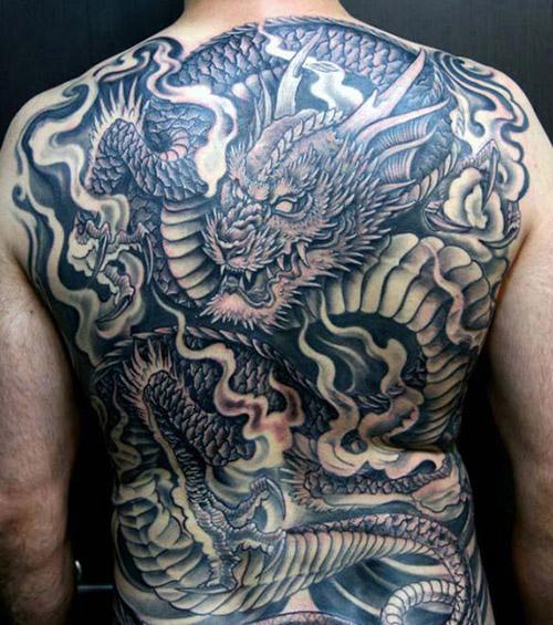 tatuajes dragones espalda tattoo 5