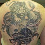 tatuajes dragones tigres yin yang 1 150x150