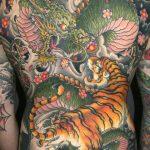 tatuajes dragones tigres yin yang 3 150x150