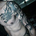 tatuajes dragones tribales hombres 5 150x150