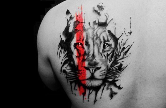 tatuajes leones hombres leon 2