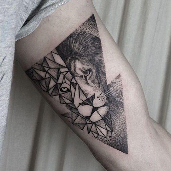 tatuajes leones hombres leon 5