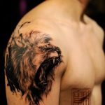 tatuajes leones realistas 3D 2 150x150