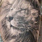 tatuajes leones realistas 3D 4 150x150