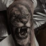 tatuajes leones realistas 3D 5 150x150