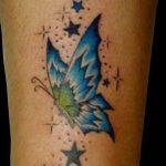 tatuajes mariposas con estrellas 2 150x150