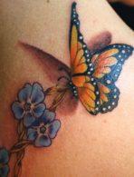 tatuajes-mariposas-con-flores (3)
