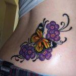 tatuajes mariposas con flores 5 150x150