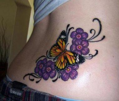 tatuajes-mariposas-con-flores (5)