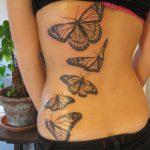 tatuajes mariposas espalda baja caderas pelvis 2 150x150