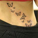 tatuajes mariposas espalda baja caderas pelvis 3 150x150